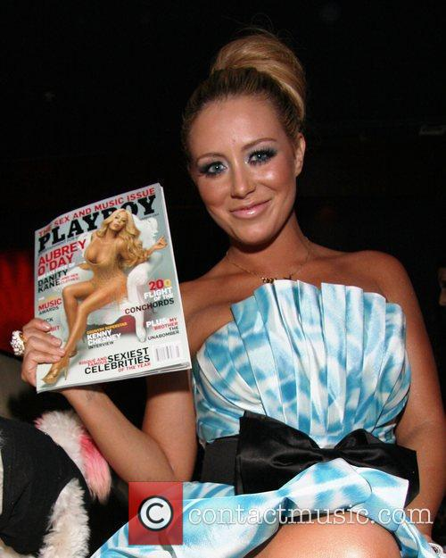 Aubrey O'Day celebrates her birthday and the release...