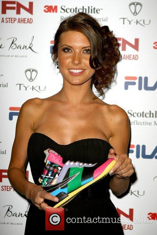 Audrina Patridge Fila's Fall 2009 Collection Launch Party...