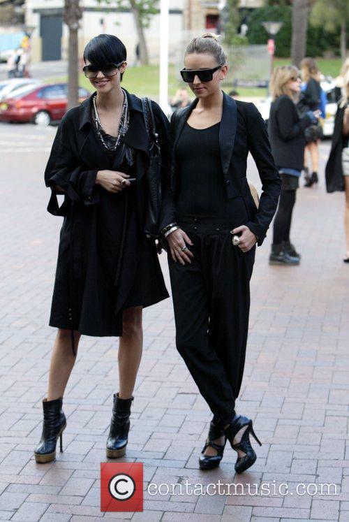 Ruby Rose  Australian Fashion Week held at...