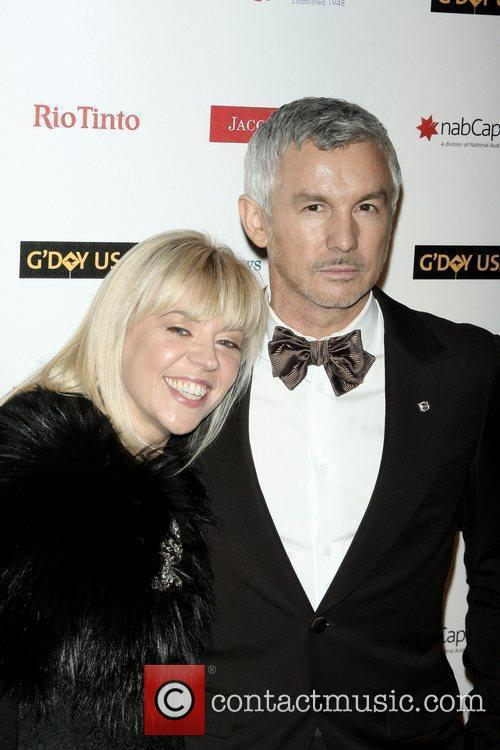 Baz Luhrmann and His Wife Catherine Martin 4