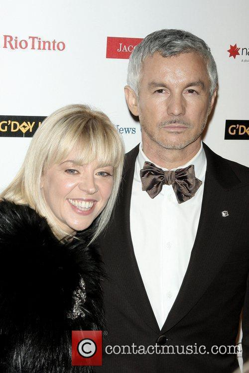 Baz Luhrmann and His Wife Catherine Martin 6