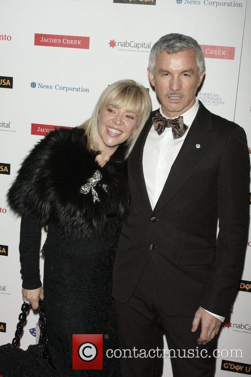 Baz Luhrmann and His Wife Catherine Martin 3