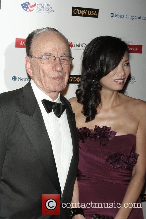 Rupert Murdoch and His Wife Wendi Deng 2