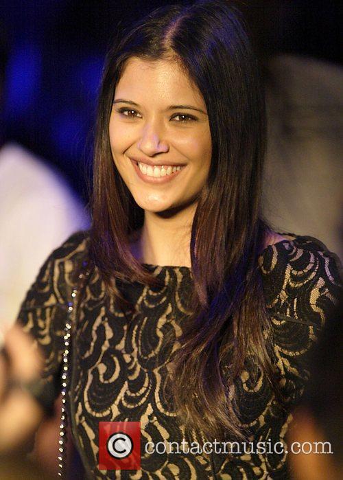 Lindsay Rodriguez The Nicola Finetti fashion show on...