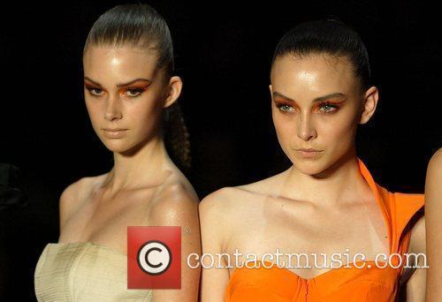 The Nicola Finetti fashion show on Day One...