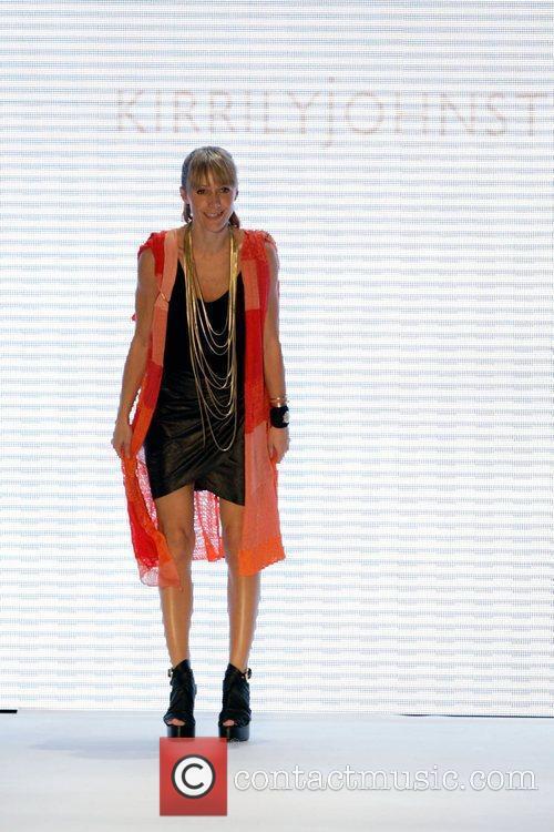 Kirrily Johnston Australian Fashion Week held at the...