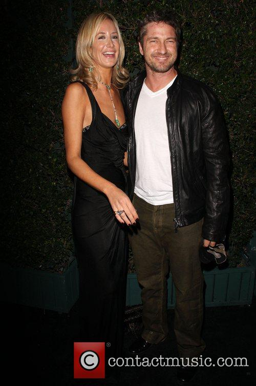Lady Victoria Hervey and Gerard Butler Launch of...