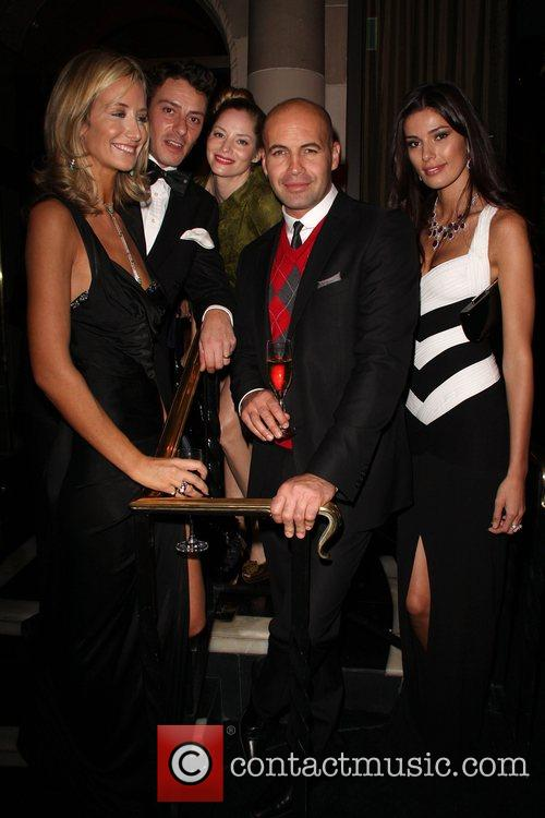 Lady Victoria Hervey, Sienna Guillory, Billy Zane and...