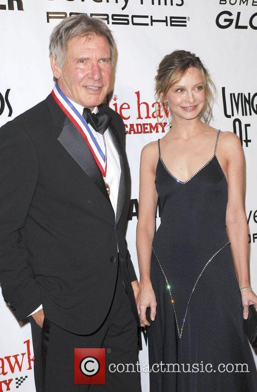 Calista Flockhart and Harrison Ford 6
