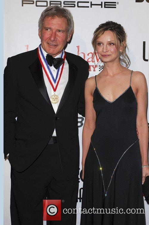 Calista Flockhart and Harrison Ford 1