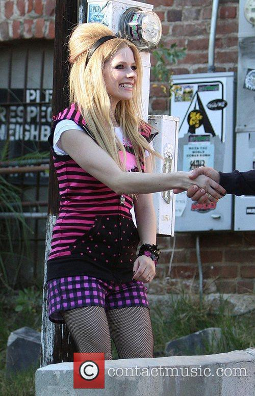 Avril Lavigne and Johnny Depp 7
