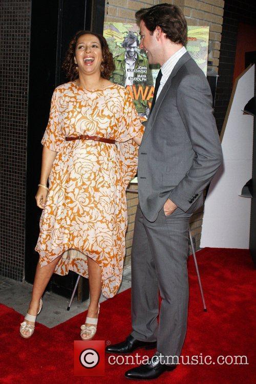 Maya Rudolph and John Krasinski 2