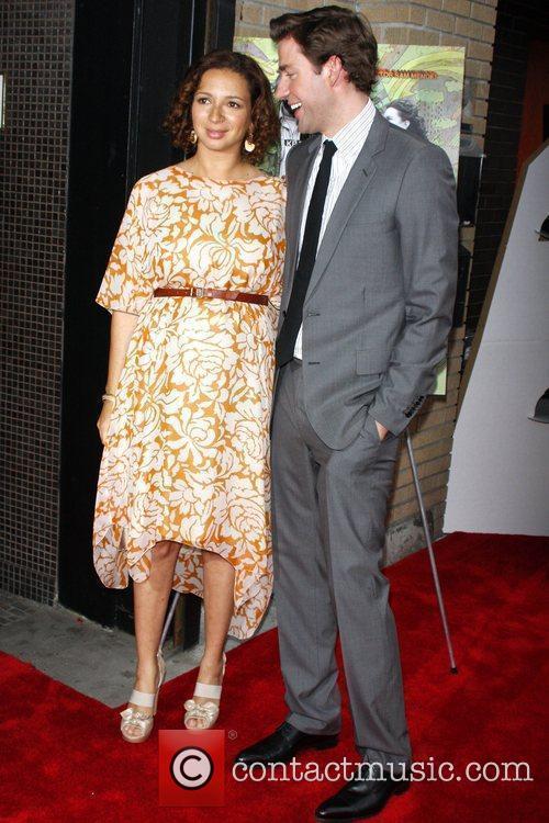Maya Rudolph and John Krasinski 3