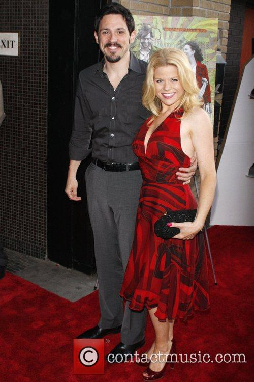 Megan Hilty and guest New York premiere of...