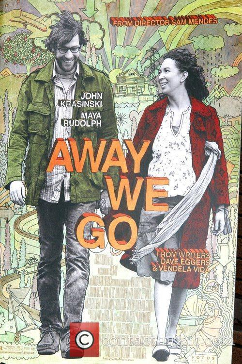 Poster Art New York premiere of 'Away We...
