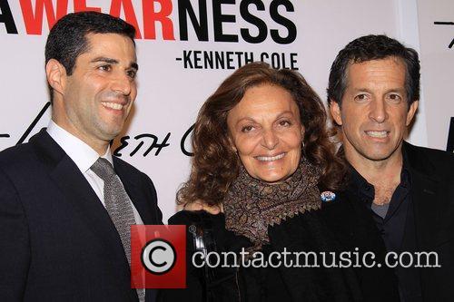 Diane Von Furstenberg, Kenneth Cole Launch Party for...