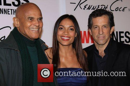 Harry Belafonte, Kenneth Cole and Rosario Dawson Launch...