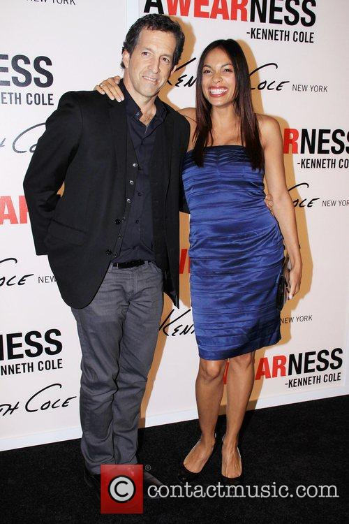 Kenneth Cole and Rosario Dawson