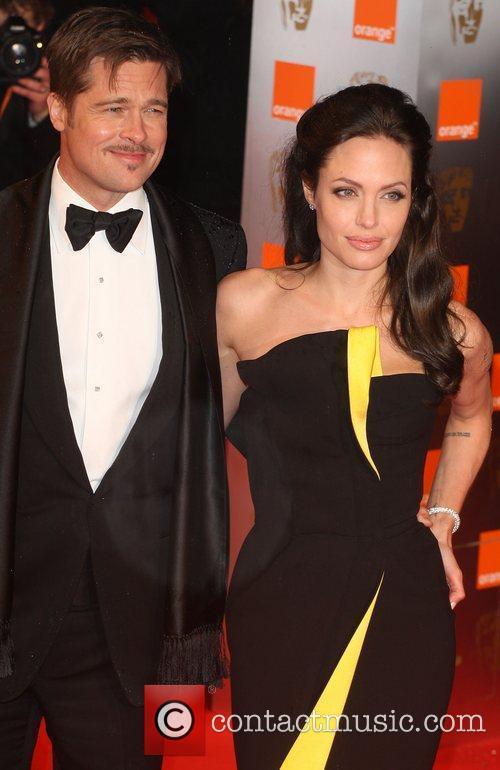 Brad Pitt and Angelina Jolie 7