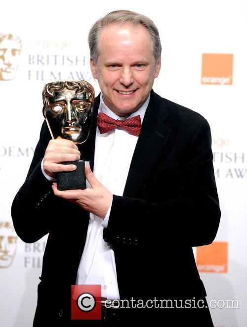 Nick Park at the BAFTAs