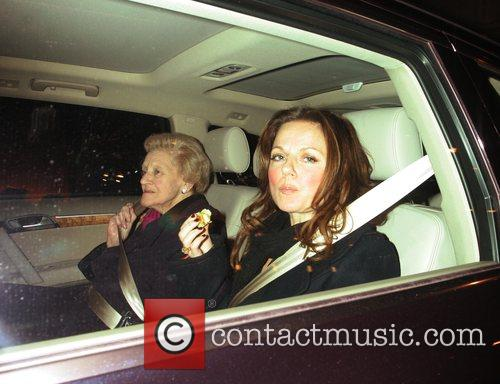 Geri Halliwell and her grandmother Party to launch...
