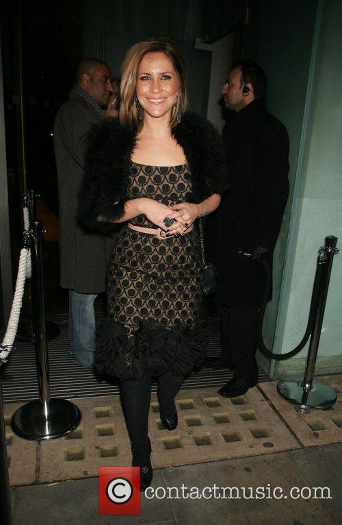 Heidi Range of the Sugababes Party to launch...