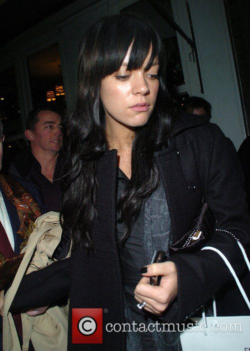 Lily Allen Party to launch the English National...