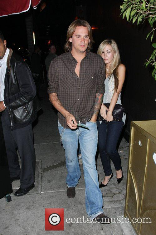 Sean Stewart outside Bar Deluxe Los Angeles, California