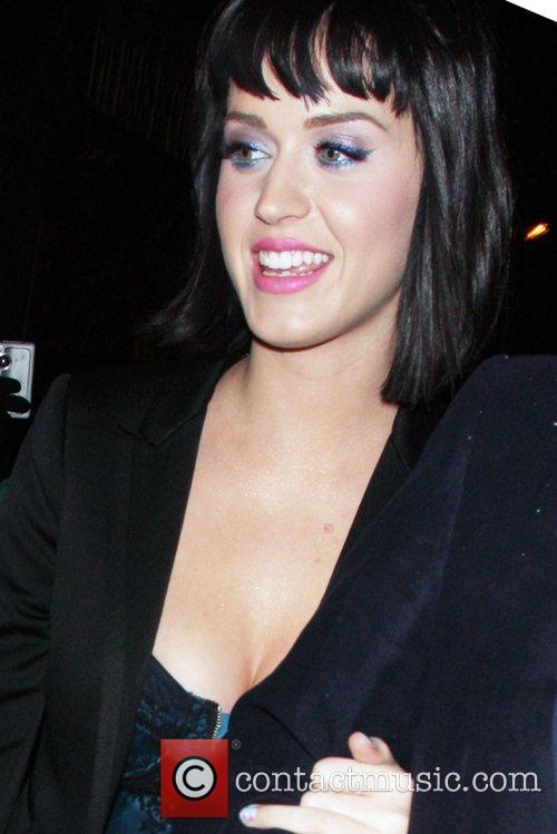 Katy Perry leaving Bar Deluxe Los Angeles, California