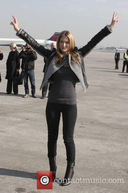 Bar Refaeli unveiled Southwest Airlines' new SI One...