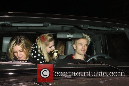 Avril Lavigne and Deryck Whibley 1