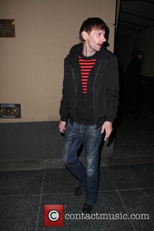 Donald Joseph Qualls outside Bardot bar Los Angeles,...