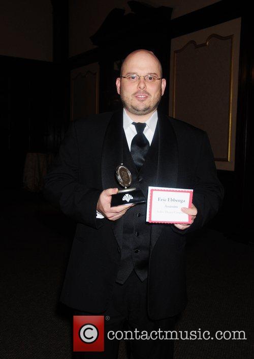 Eric Ebbenga, winner of Outstanding Musical Direction,...
