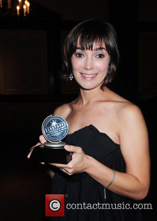 Genevieve Perrier, winner of the Cushman Award forf...