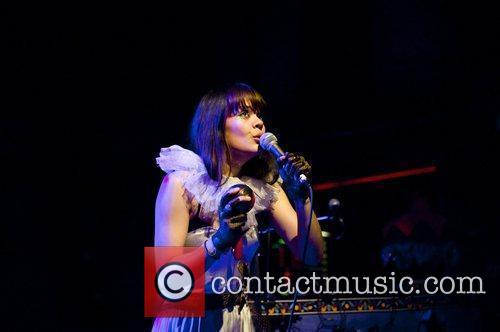 Bat for Lashes performing live at the Shepherds...