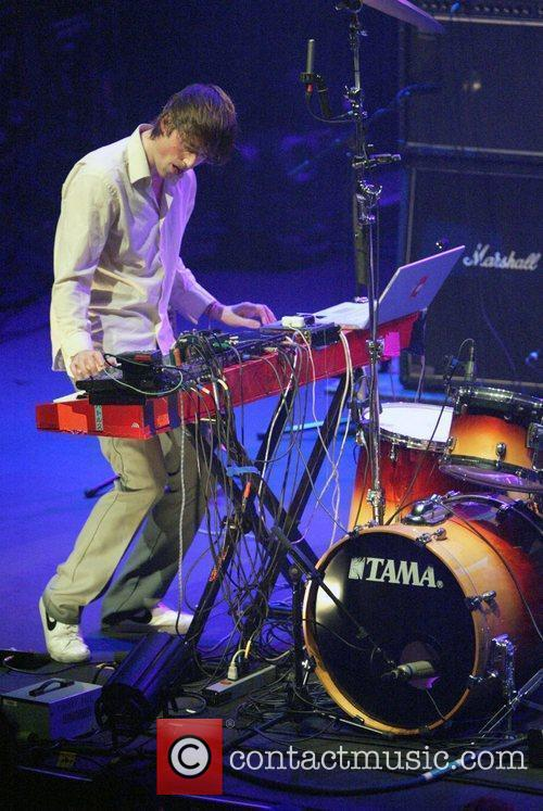 Ian Williams Battles performing at Sydney Opera House...