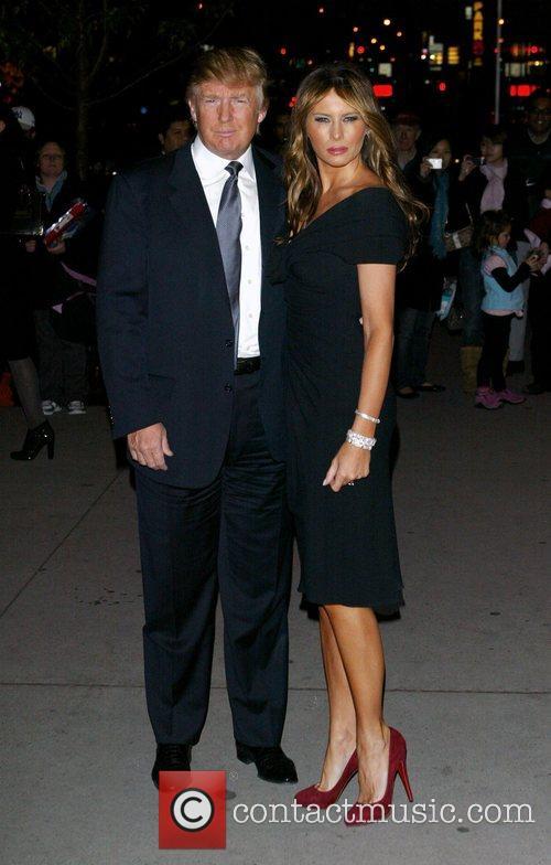 Donald Trump and Melania Trump 3
