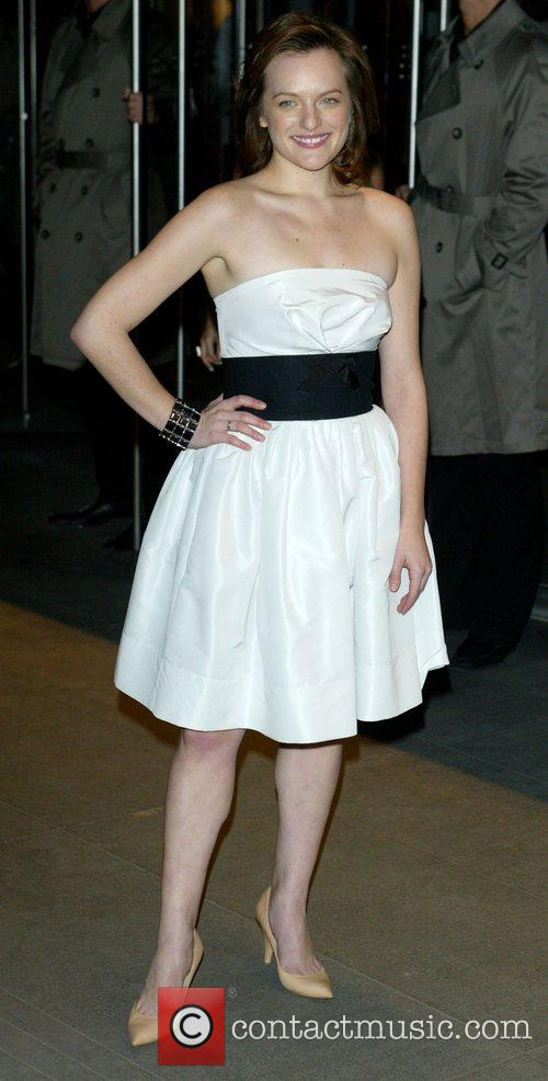 Elisabeth Moss MoMa Film Benefit Gala Honoring Baz...