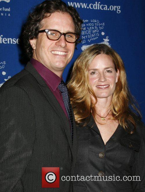 Davis Guggenheim and Elizabeth Shue Children's Defense Fund-California...