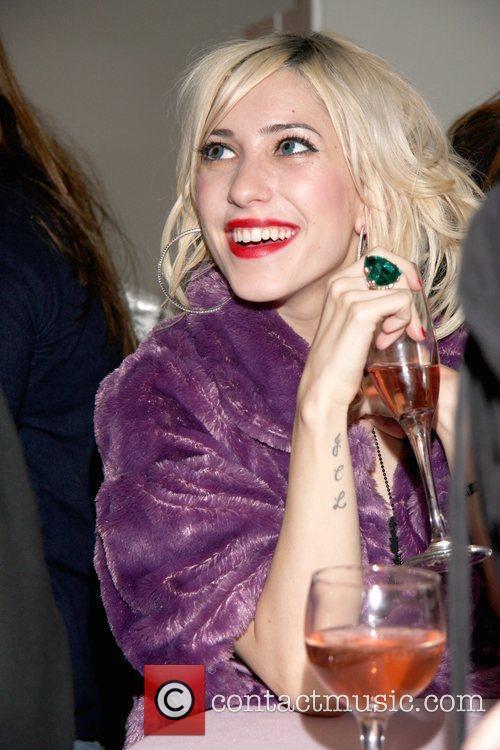 Jessica Origliasso of The Veronicas VIP Beauty Bar.