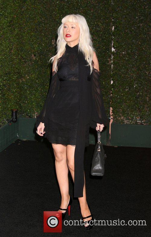 Christina Aguilera The launch of 'beautyLIGHT' by Matthew...