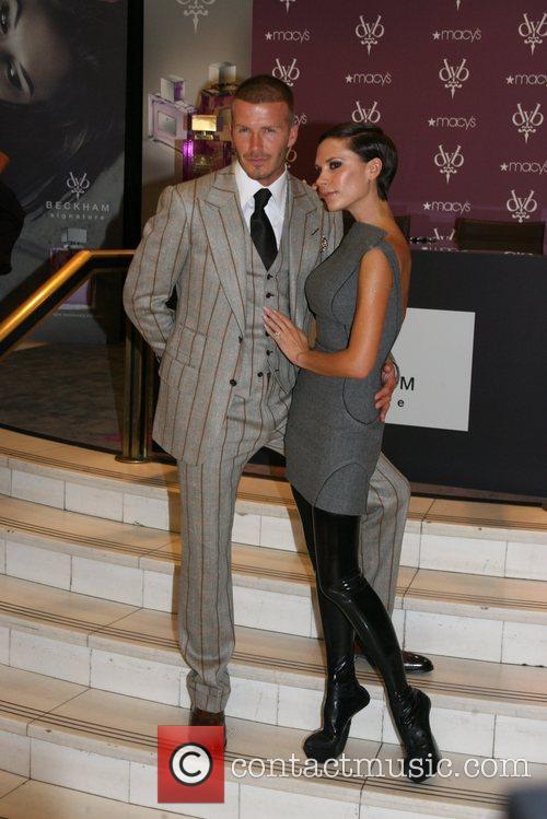 David Beckham and Victoria Beckham 2
