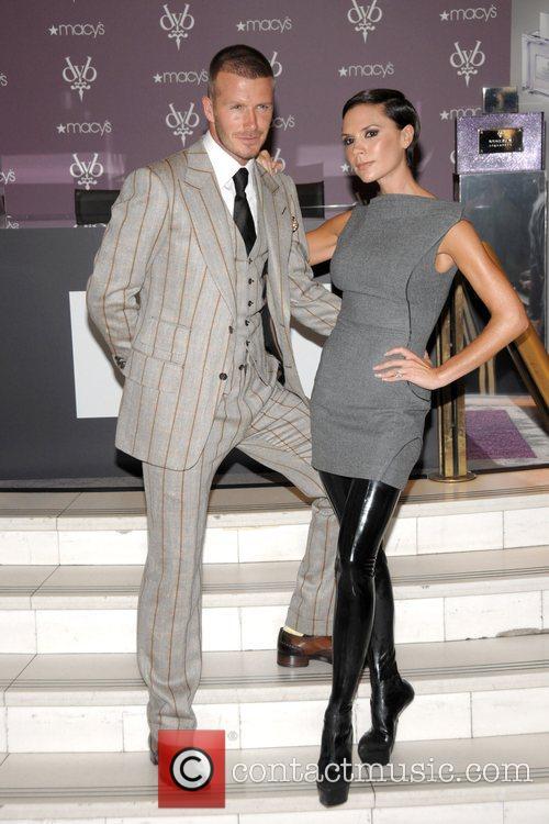 victoria beckham and david beckham. David Beckham and Victoria