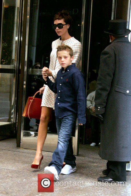 Leaving their Manhattan Hotel