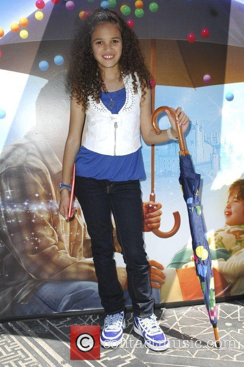 Madison Pettis Walt Disney Home Entertainment wraps up...