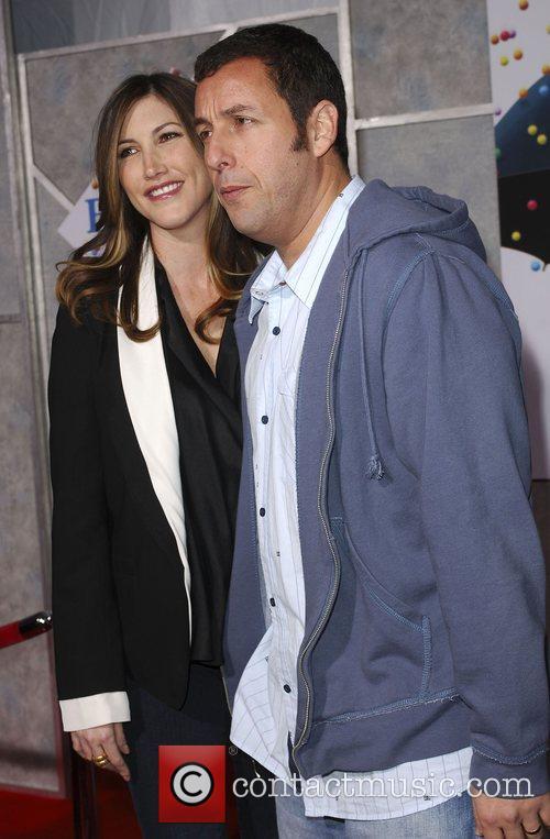 Jackie Sandler and Adam Sandler World Premiere of...