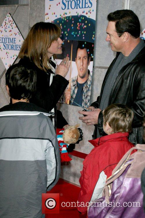 Lucy Lawless and Patrick Warburton World Premiere of...