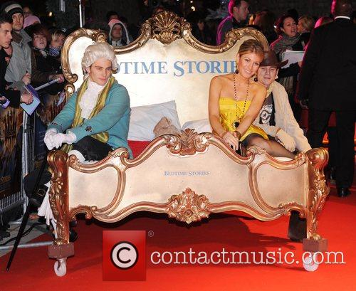 UK Premiere of 'Bedtime Stories' held at the...