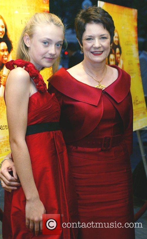 Author Sue Monk Kidd, Dakota Fanning 'The Secret...