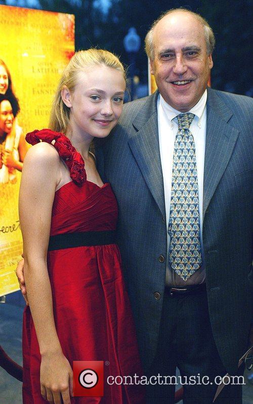 MPPA President Dan Glickman and Dakota Fanning 'The...